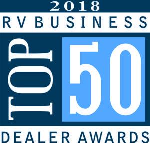 2018 RVBusiness Top 50 Dealer Awards IDS Customers