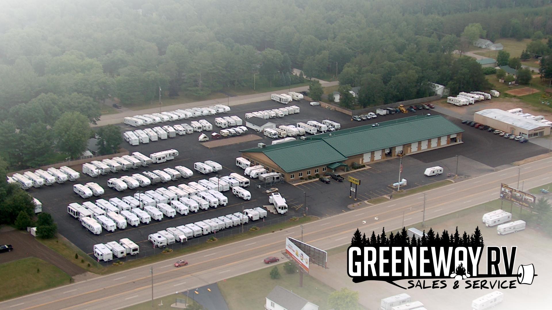Greeneway RV Aerial View