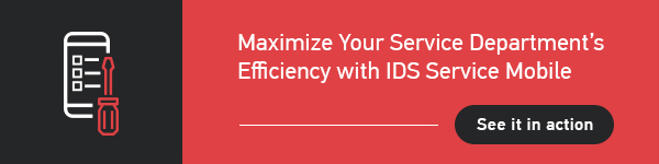 IDS Service Mobile Banner