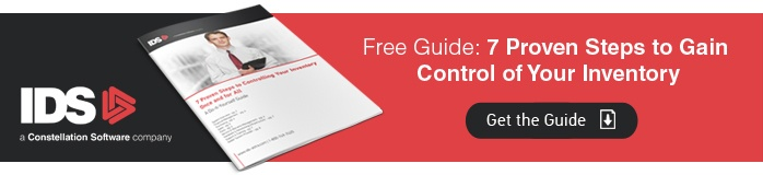 Inventory control guide banner