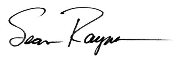 Sean's Signature