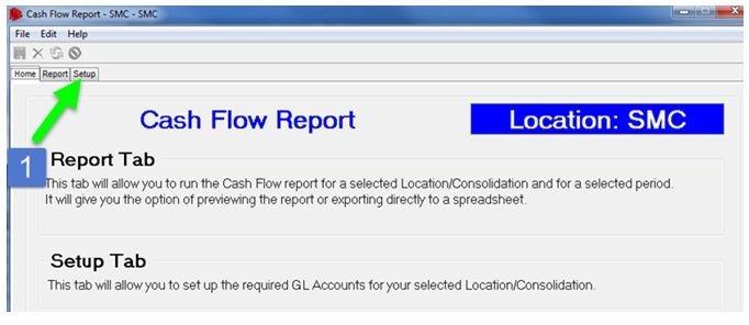 cash flow report - 2