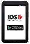 IDS app on Samsung galaxy tab