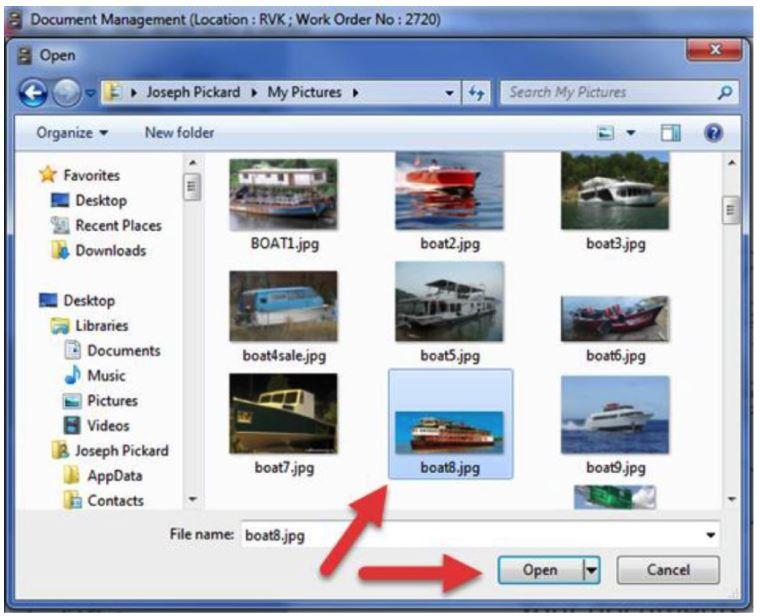 service linking photo