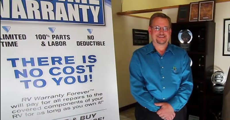 Bob Scholl, the Assistant General Manager at Rocky MountainRV & Marine